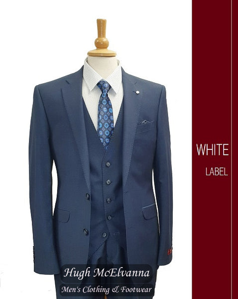 Fashion 3Pc. Suit by White Label Style: 5342 - Hugh McElvanna Menswear