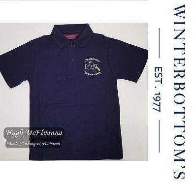 Granemore Pre School Polo With Crest - Hugh McElvanna Menswear