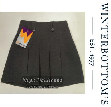 E.W. Grey Skirt by Winterbottom Style: JSK200 - Hugh McElvanna Menswear