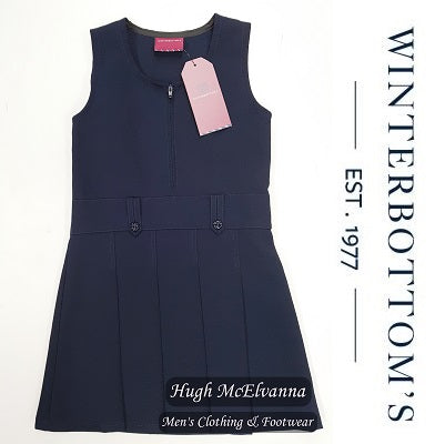 Navy Pinafore by Winterbottom - Hugh McElvanna Menswear