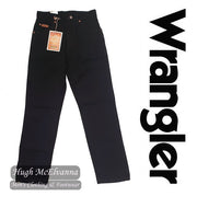 Boys Black Over Dyed Regular Fit Wrangler Texas