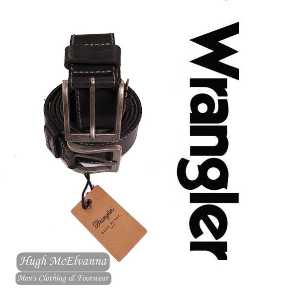 Wrangler Basic Stitch Belt - 3 Colour Options Available