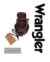 Wrangler Fashion Stitch Belt - 2 Colour Options Available