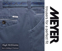 Meyer Blue CHICAGO Trouser Style: 5033/18
