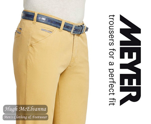 Meyer Camel CHICAGO Trouser Style: 5033/42