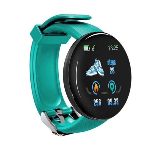 Smart Watch Bracelet, Pool Green.  Fashion, Professional  Intelligence, Your Healthy Companionship  Be Safe, Be Fashion