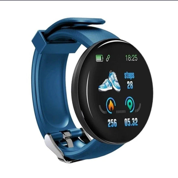 Smart Watch Bracelet, Sky Blue.  Fashion, Professional  Intelligence, Your Healthy Companionship  Be Safe, Be Fashion - AnthonyQuintana.com