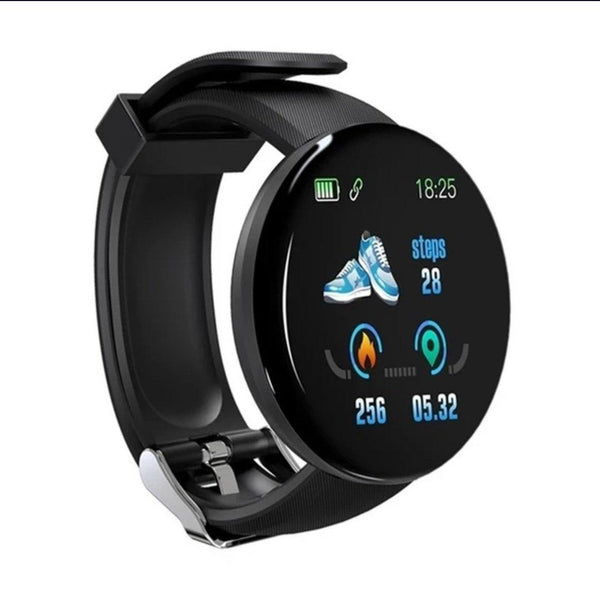 Smart Watch Bracelet,  Black.  Fashion, Professional  Intelligence, Your Healthy Companionship  Be Safe, Be Fashion - AnthonyQuintana.com