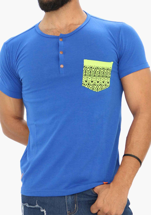 AQ1675 - AQ Mens Crew Neck Short Sleeve T-Shirt - anthonyquintana.com