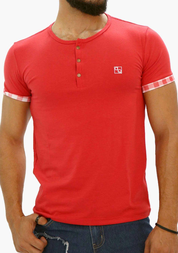 AQ1869A - AQ Mens Crew Neck Short Sleeve T-Shirt - AnthonyQuintana.com