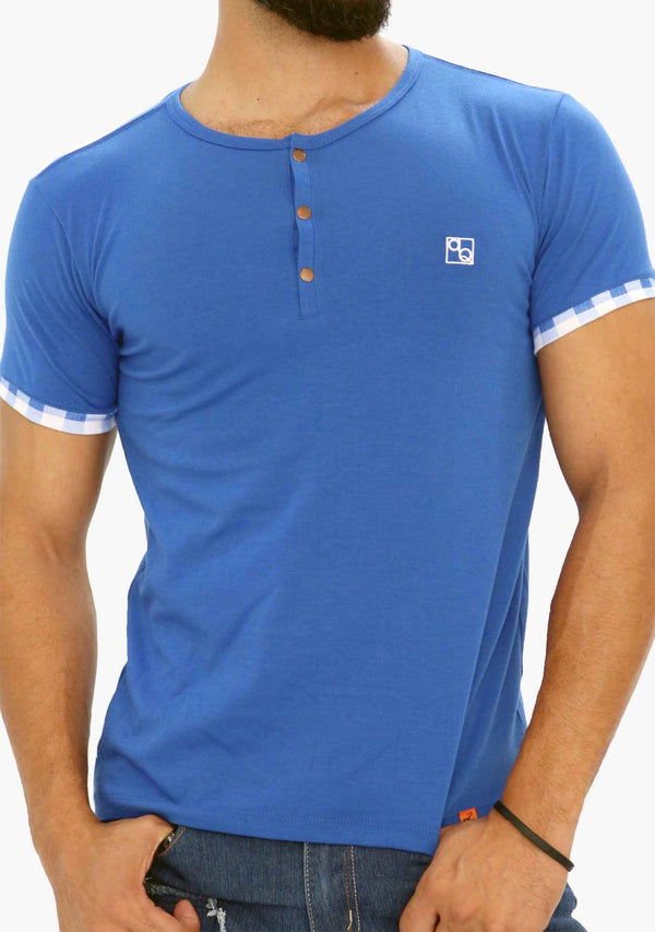 AQ1869B - AQ Mens Crew Neck Short Sleeve T-Shirt - AnthonyQuintana.com