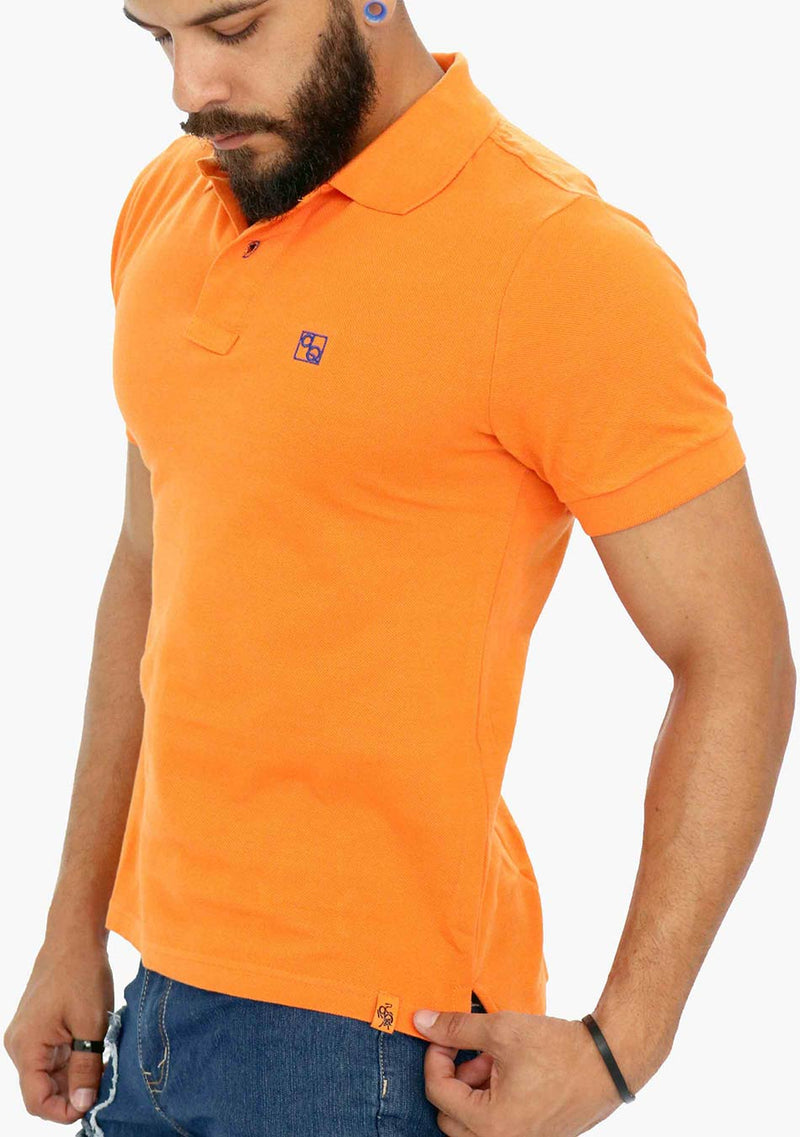 AQ2018 - AQ Mens Short Sleeve Polo Shirt - anthonyquintana.com