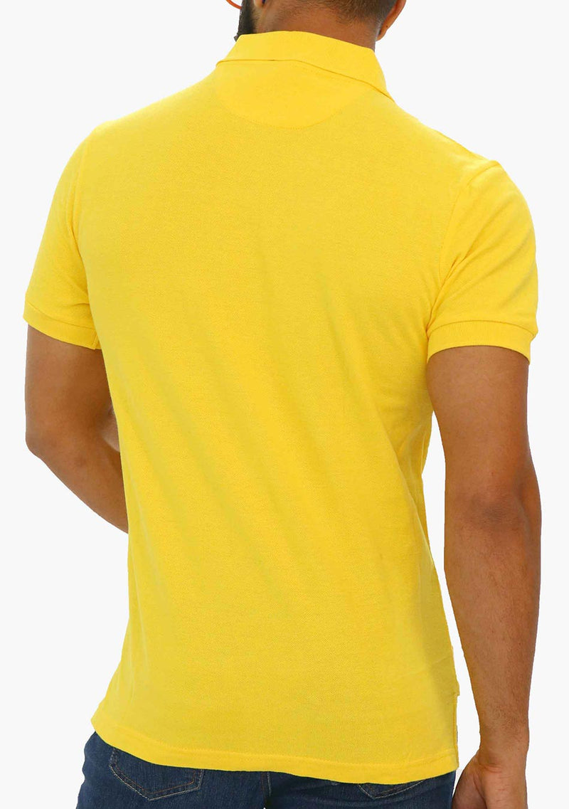 AQ2033 - AQ Mens Short Sleeve Polo Shirt - anthonyquintana.com