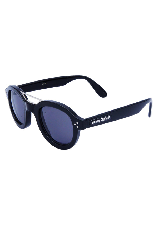 Anthony Quintana Hipster double metal / Plastic Retro Unisex Sunglasses Fashion Trendy Style , AQS 32057 C - anthonyquintana.com - AnthonyQuintana.com