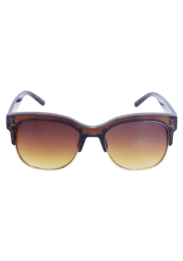 Anthony Quintana Cat Eye Metal/Plastic Retro Unisex Sunglasses Fashion Trendy Style , AQS 32018 Amber - anthonyquintana.com