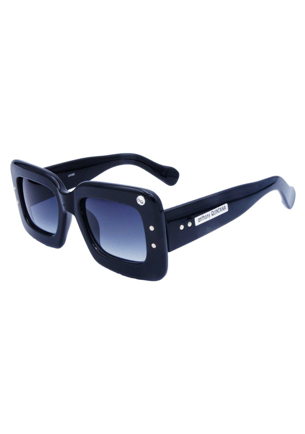 Anthony Quintana Big Celebrity Square Retro Fashion Trendy Style Sunglasses , AQS 3833 PTM - anthonyquintana.com