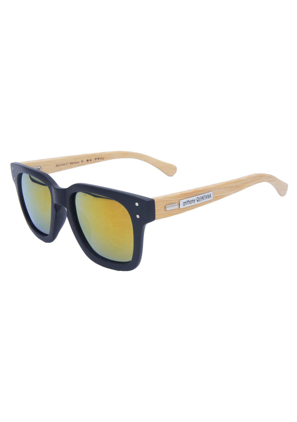 Anthony Quintana Projection Earth Bamboo Sunglasses , AQS WD3873 - anthonyquintana.com - AnthonyQuintana.com