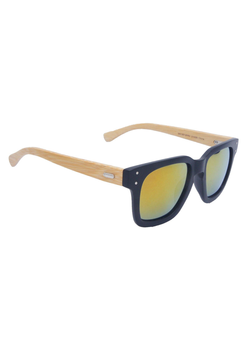 Anthony Quintana Projection Earth Bamboo Sunglasses , AQS WD3873 - anthonyquintana.com