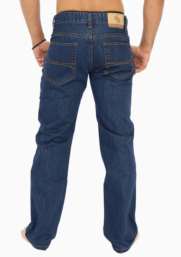 Berlin - AQ Men's Classic Straight Fit Jeans (AQ6910) - AnthonyQuintana.com