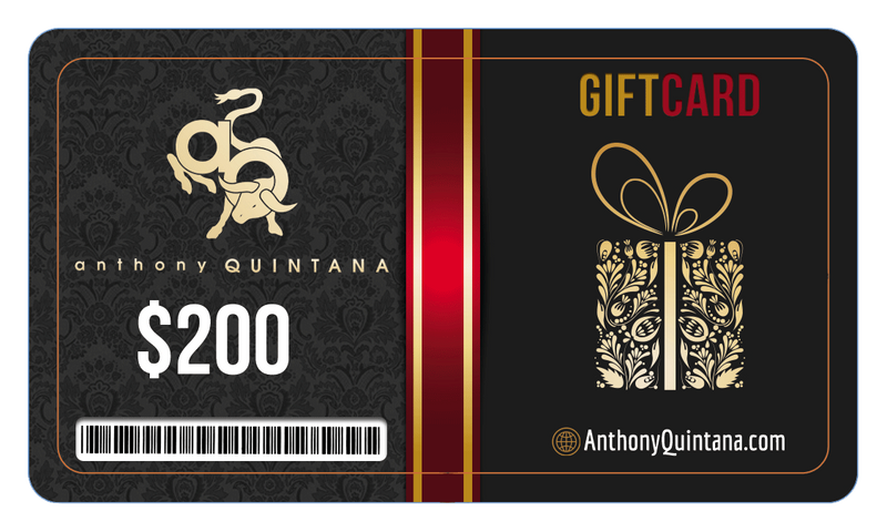 AnthonyQuintana.com Gift Card