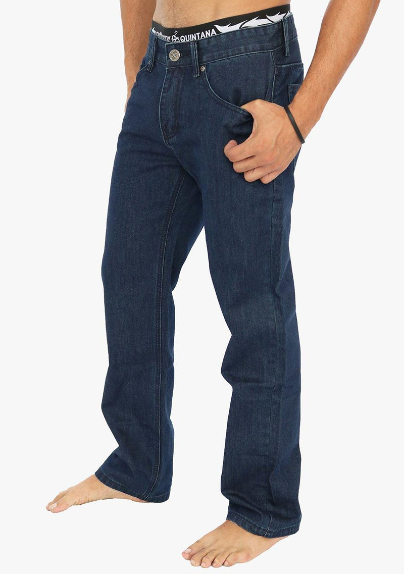 Paris - AQ Men's Classic Straight Fit Classic Jeans (AQ6904) - AnthonyQuintana.com
