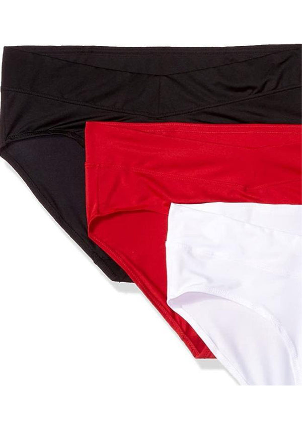 Wer-0001 Sexy Hiphugger High waist Panties Pack (3 PIECES in Pack) Basic Colors