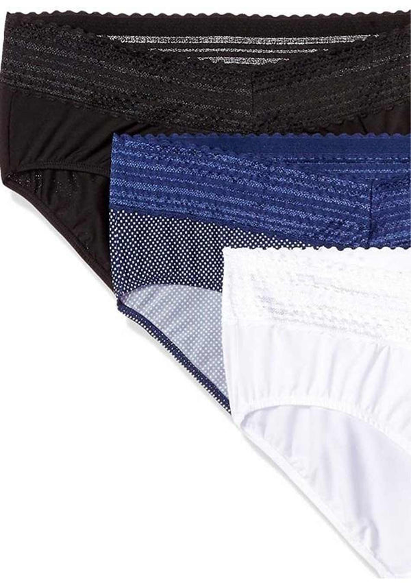 Wer-0002 Sexy Hiphugger High waist Panties Pack (3 PIECES in Pack) Basic Colors