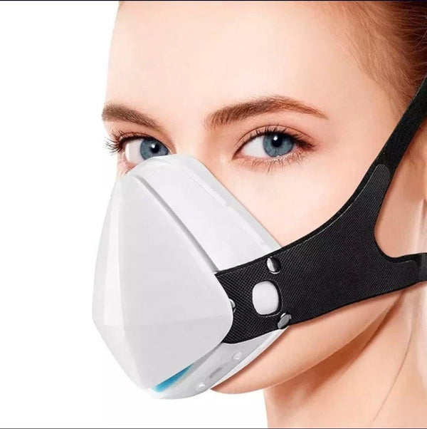 Fashion 3D Fashion Protective Mask White, Be Safe, Be Fashion - AnthonyQuintana.com