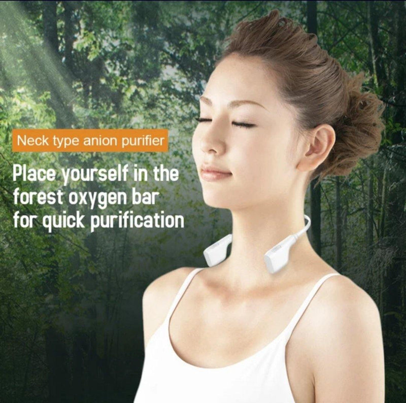 Fashion Ion Personal Oxigen Purification 3D Grey, Be Safe, Be Fashion
