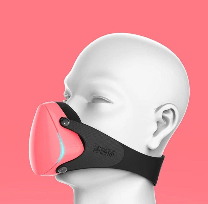 SMALL Faces (Youth and Slim faces)  Fashion 3D Fashion Protective Mask PINK, Be Safe, Be Fashion