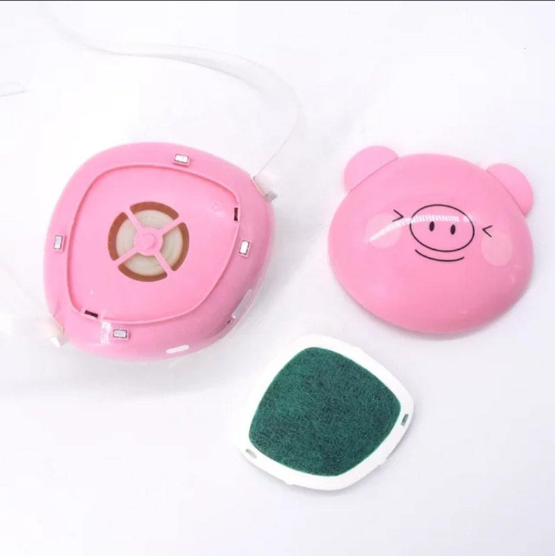 Fashion 3D Fashion Protective Mask PINKY PIG Unisex For Children Faces 5 years or more - AnthonyQuintana.com