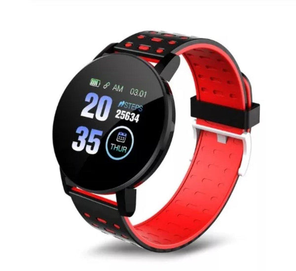 Smart Watch Bracelet, Passion Red.  Fashion, Professional  Intelligence, Your Healthy Companionship  Be Safe, Be Fashion