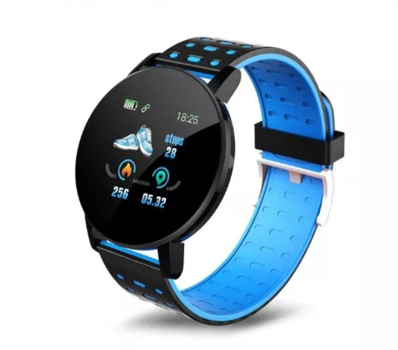 Smart Watch Bracelet, Ocean Blue.  Fashion, Professional  Intelligence, Your Healthy Companionship  Be Safe, Be Fashion - AnthonyQuintana.com