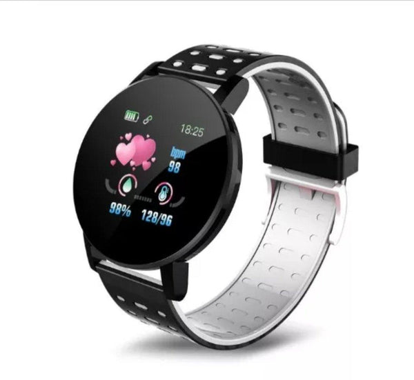 Smart Watch Bracelet, Midnight Black.  Fashion, Professional  Intelligence, Your Healthy Companionship  Be Safe, Be Fashion