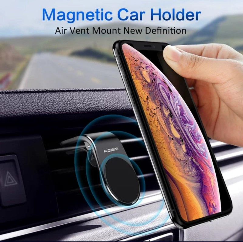 Magnetic Deluxe Mobile Car Holder Fashion   Black, Be Safe, Be Fashion - AnthonyQuintana.com