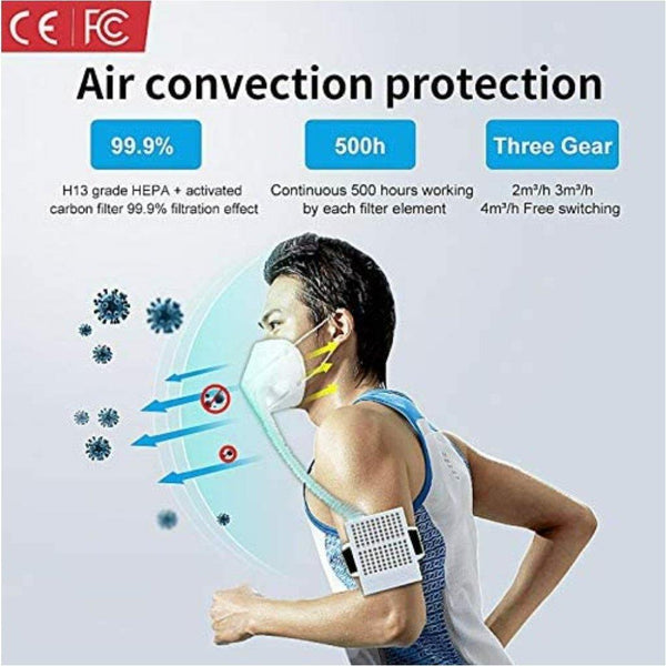 Smart Mask Purifier Oxigen, Be Safe, Be Fashion - AnthonyQuintana.com