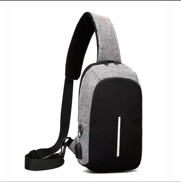 Fashion Shoulder Sling Trendy Bag... Back Pack Moon Gray