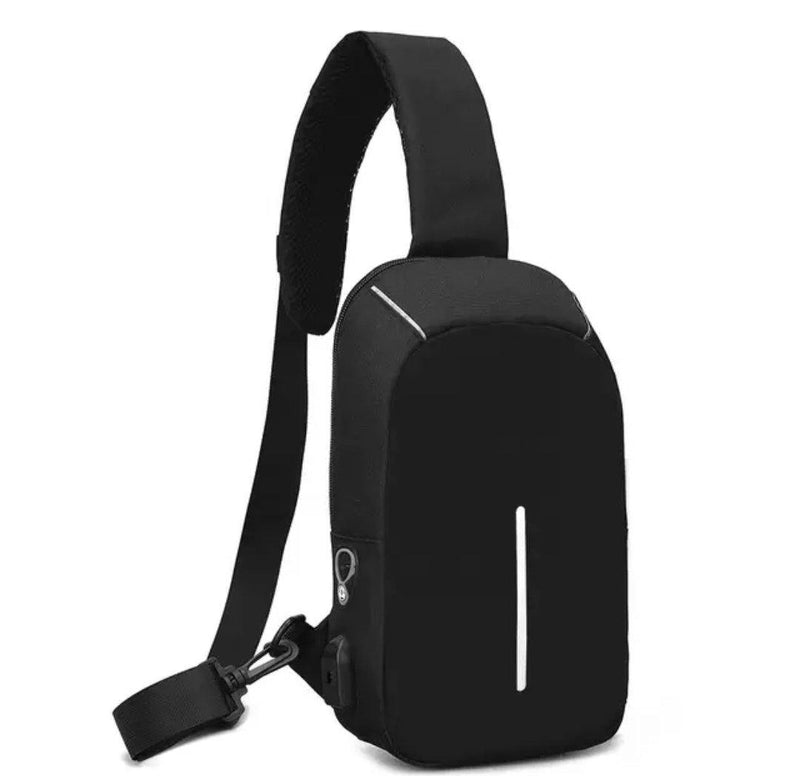 Copy of Fashion Shoulder Sling Trendy Bag... Back Pack Black - AnthonyQuintana.com