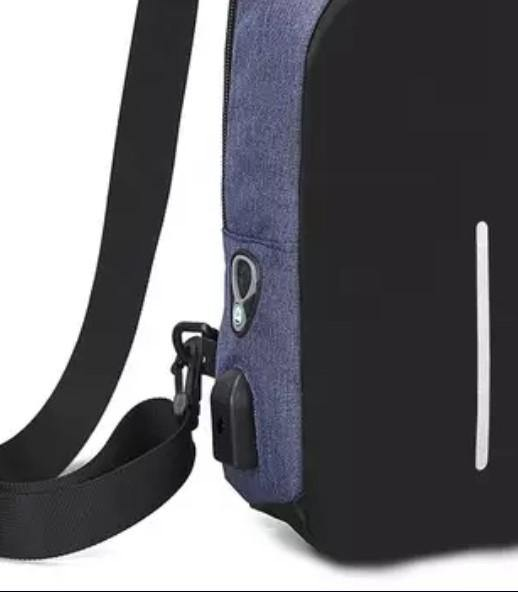 Fashion Shoulder Sling Trendy Bag... Back Pack Midnight Blue
