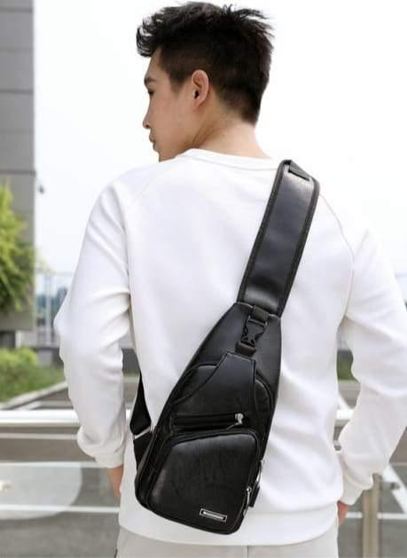 3D Fashion Shoulder Sling Trendy Bag... Back Pack Negro Black