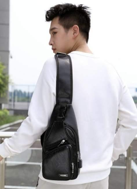 3D Fashion Shoulder Sling Trendy Bag... Back Pack Negro Black - AnthonyQuintana.com