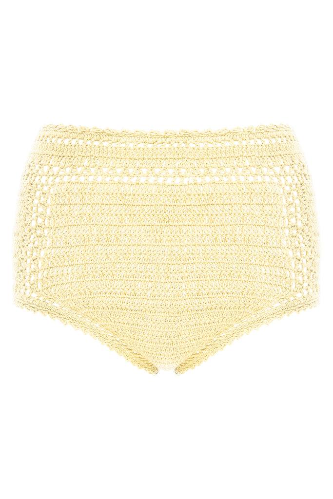 Essential High Waisted Bikini Bottom