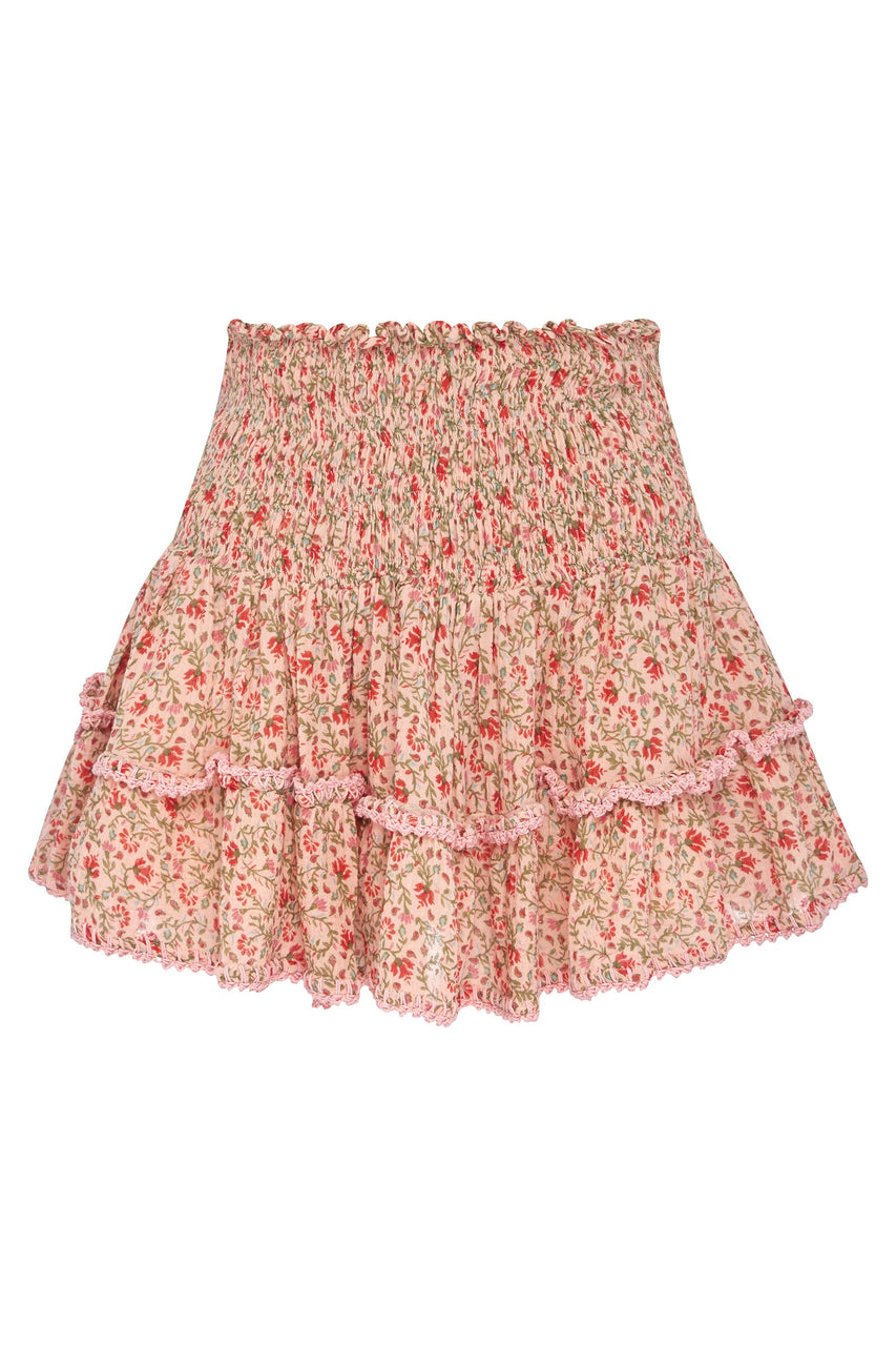 LIA SHIRRED SKIRT