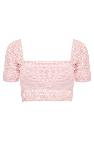ROSE CROP TOP