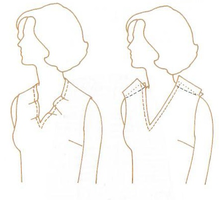 Problem solving -Gaping on Neckline