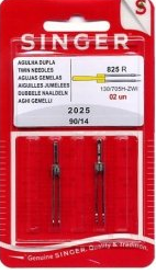2025 Twin Needle Singer 2mm - 4mm wide