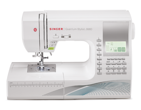SINGER Quantum Stylist™ 9960  Electronic Sewing Machine