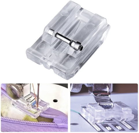 Invisible Zipper Sewing Machine Presser Foot Snap on Plastic