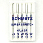 Schmetz HAX1SP Special Super Stretch Serger/ Sewing Machine needles Needles