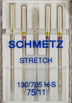 Schmetz Stretch Sewing Machine Needles 130/705H H-S